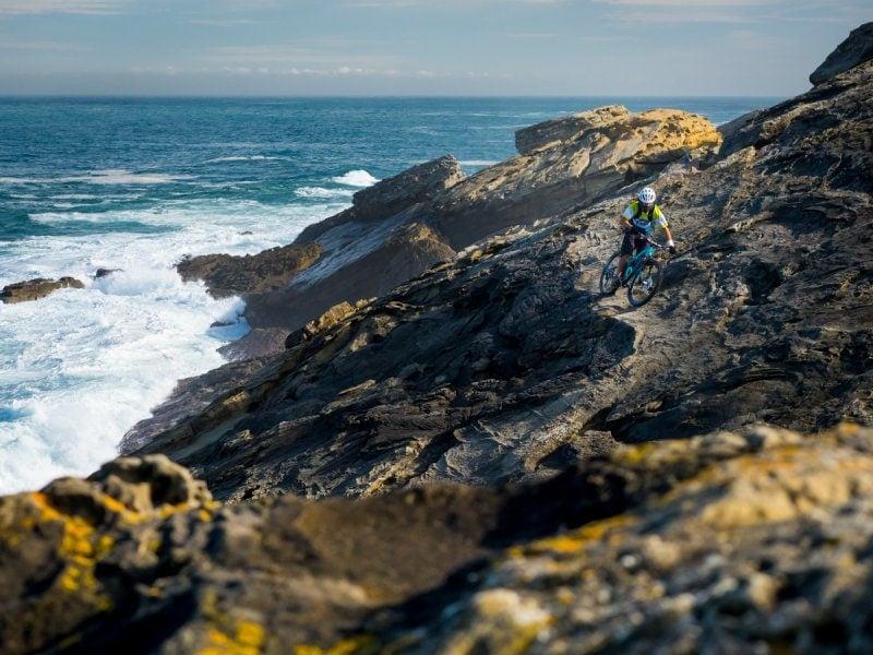 Riding on the Basque Coast