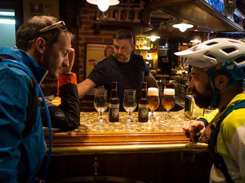 Beers in San Sebastian