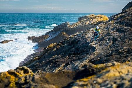 mountain bike holiday coast