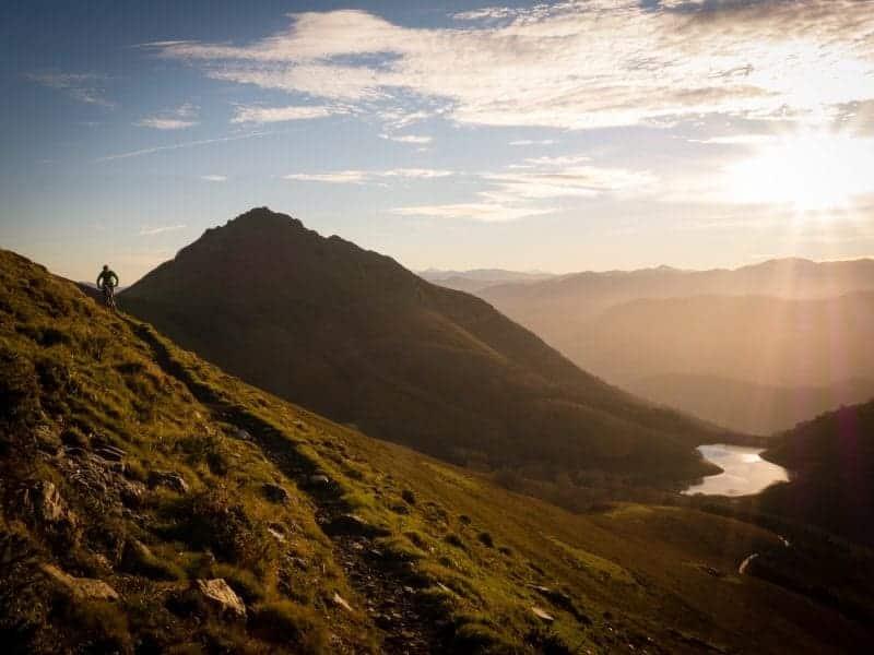 Basque Mountain Biking At Sunrise