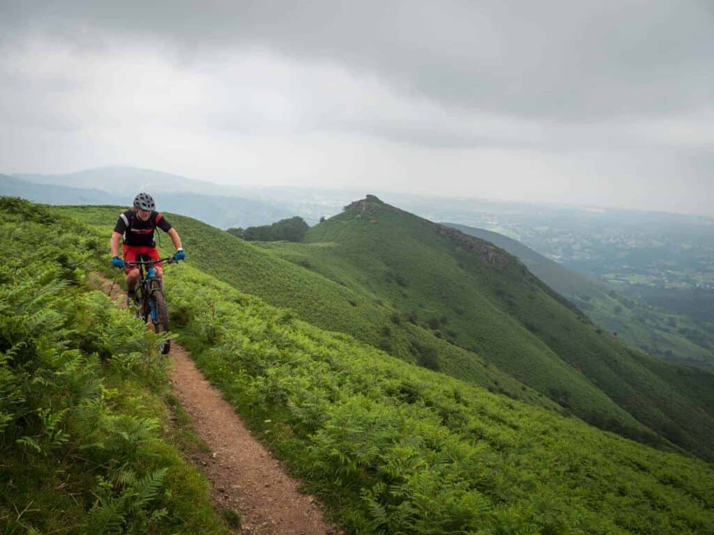 basque coast safari mountain bike holiday