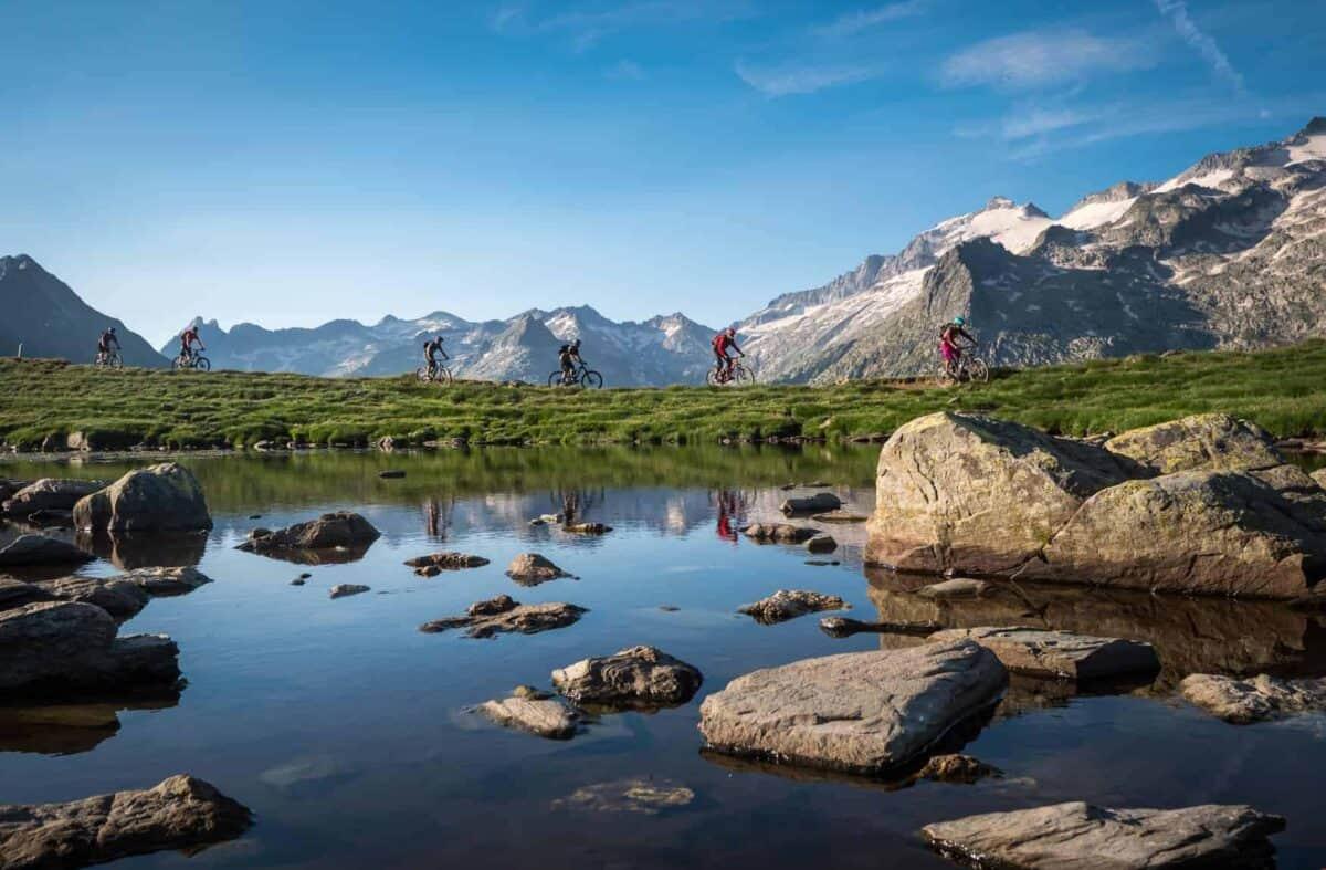 ultimate pyrenees mountain bike holiday