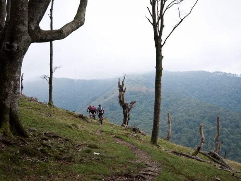 Kirsten, Jamie and Al Climbing