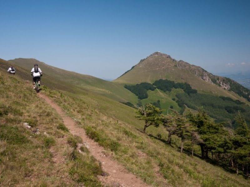 Tim and Ben Climbing to Mendaur