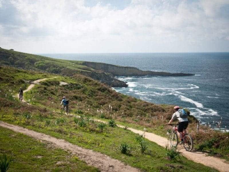 John, Fergal, Mark, Ray and John on the Coast