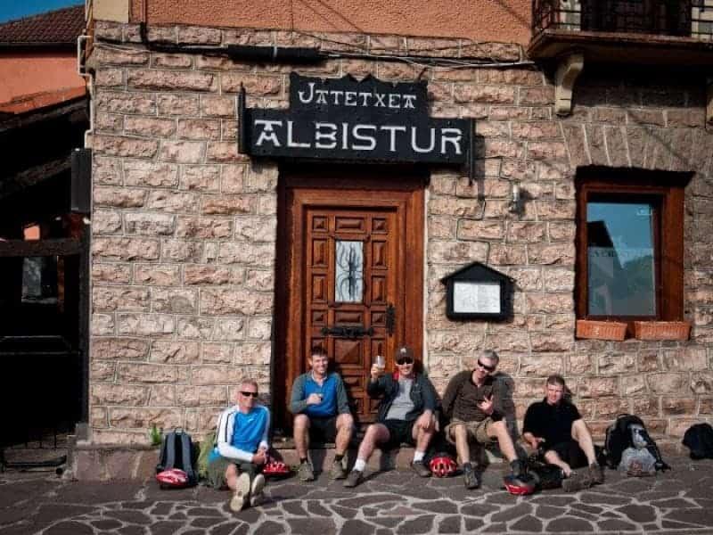 John, Fergal, Mark, Ray and John in the Bar