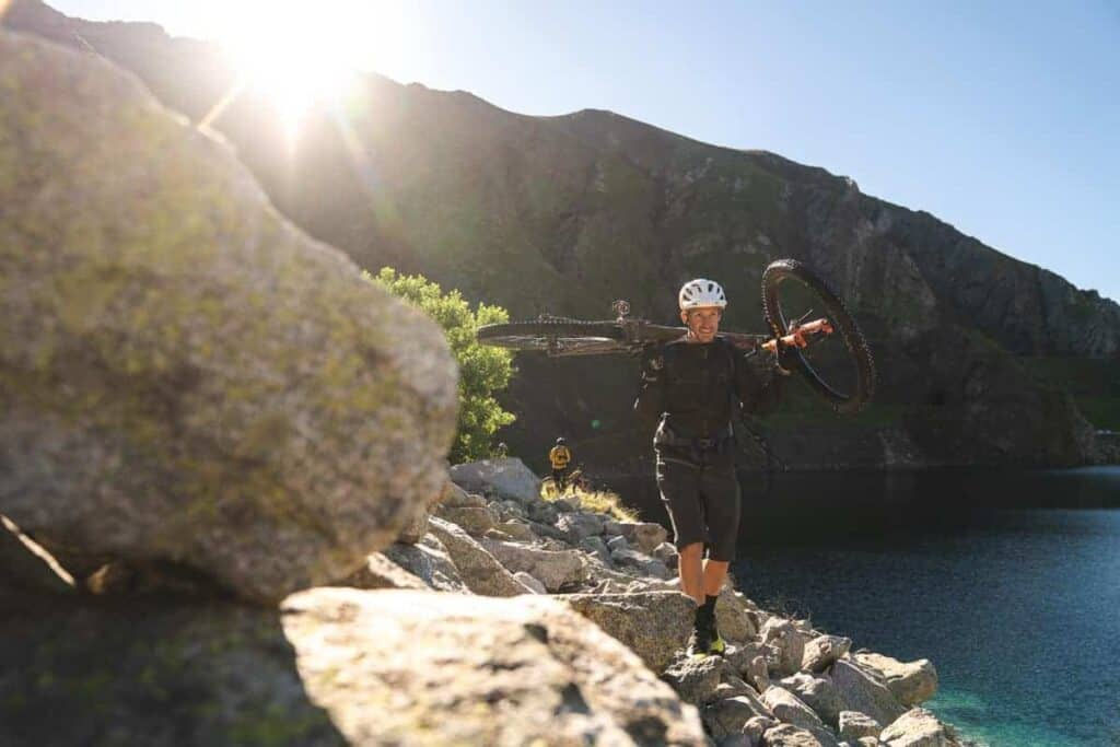 Borja mountain bike guide
