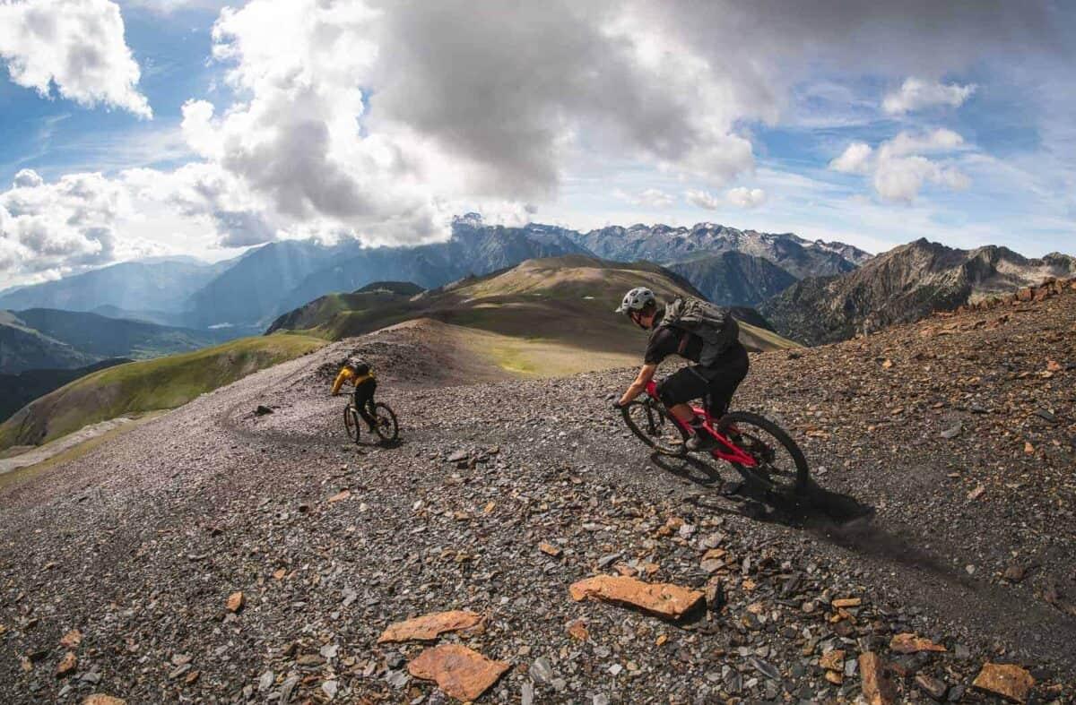 high pyrenees mountain bike tour