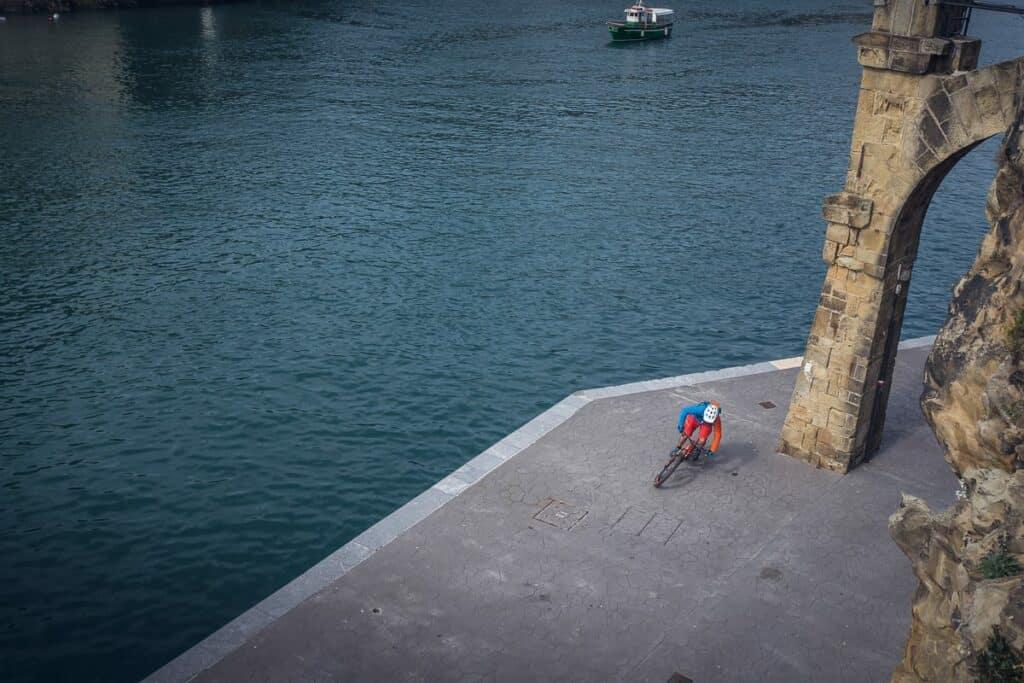 Orbea Occam on the Basque Coast